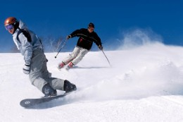 skiing and snowboarding injuries