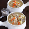 barley chicken vegetable soup