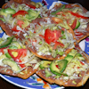 bean tuna salad tostadas