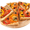 bell pepper olive pizza