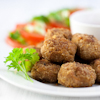 black bean corn meatless balls