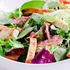 chicken bacon salad homemade croutons