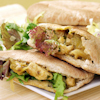 Curry Chicken Salad Pita