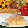 deep dish apple pie pecan crisp