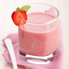 easy frozen strawberry yogurt