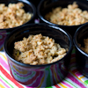 fruit oat crumble