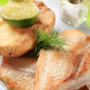 golden crusted baked lime fish