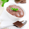 minty chocolate pudding