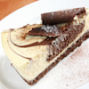mocha cheesecake chocolate crust