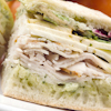 pesto turkey sandwich