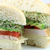 roasted red pepper turkey subs
