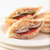 shredded balsamic chicken pitas