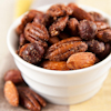 spiced baked pecans