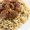 spiced beef wild rice