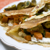 spiced pumpkin tacos