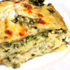 spinach cheese white lasagna