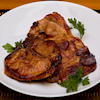 teriyaki glazed pork chops