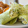 tuna salad spinach wraps