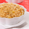 warm apples oat streusel