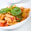 white bean vegetable penne