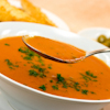 zesty roasted red pepper soup