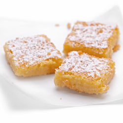 100 calorie lemon bars