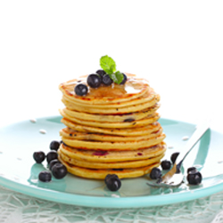 Blueberry Pancakes + Pancake 101 Recipe — Dishmaps