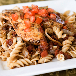 corkscrew chicken pasta
