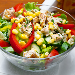creamy mexican chicken salad