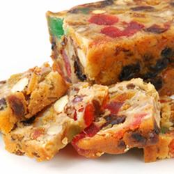 Fruit Cake Bars -