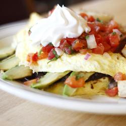 Mexican Avocado Omelette -