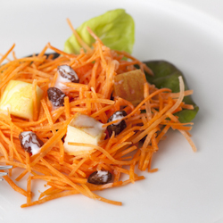 pineapple carrot slaw