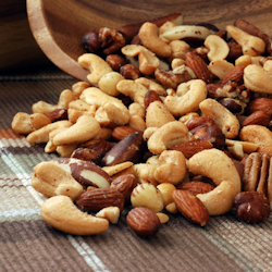 spiced cider nuts