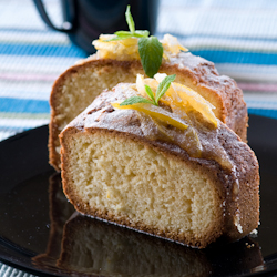 sweet lemon cake