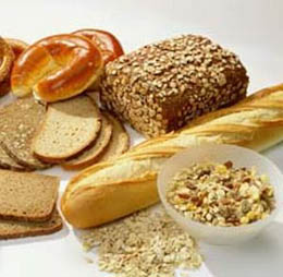 wheat bread grains