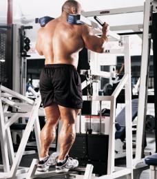 calves workout machine