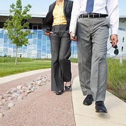 walking at work