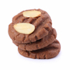 cakey almond chocolate cookies