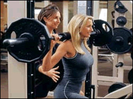 the benefits associated with weight training